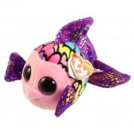 TY Beanie Boos pliušinė spalvota žuvis FLIPPY 15 cm, TY37242