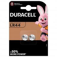 DURACELL baterijos LR44 1,5V, 2 vnt., DURSC51