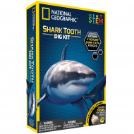 NATIONAL GEOGRAPHIC rinkinys Shark Teeth Dig Kit, NGSHARK NGSHARK