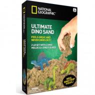NATIONAL GEOGRAPHIC kinetinio smėlio rinkinys su dinozaurais, 0,9kg, 20261 20261