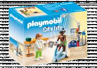 PLAYMOBIL CITY LIFE Kineziterapeutas, 70195 70195