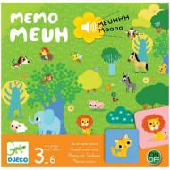 DJECO Žaidimas Memo Mueh, DJ08482 DJ08482