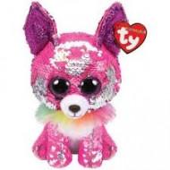 TY Beanie Boos Flippable Čihuahua rožinis Charmed reg, TY36341