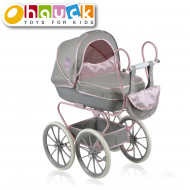 HAUCK vežimėlis lėlei klasikinis Princess, rožinis, D87816 D87816