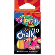 COLORINO KIDS spalvota kreida, nedulkanti (10 vnt.), 33152PTR 33152PTR