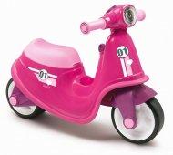 SMOBY motoroleris-paspirtukas, rožinės sp., 7600721002 2147483647