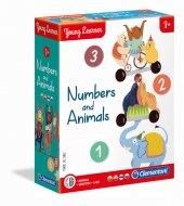 CLEMENTONI žaidimas Play With Numbers (LT+LV+EE+RU), 50591 50591