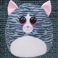 TY Squish a Boos pliušinė katė KIKI, 40cm, TY39190 TY39190