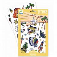DJECO Body Art tatuiruotės Bang bang, DJ09577 DJ09577