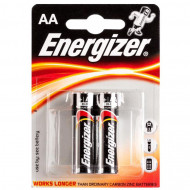 ENERGIZER baterijos LR6 AA, blister*2