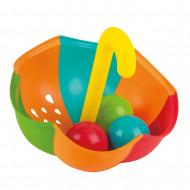 HAPE Vonios žaislas Skėtis su kamuoliukais, E0206 E0206