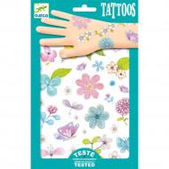 DJECO Body Art tatuiruotės Laukų gėlės, DJ09585 DJ09585