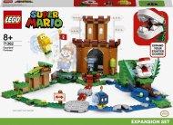 71362 LEGO® Super Mario™ Saugomos tvirtovės papildymas 71362