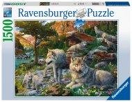RAVENSBURGER dėlionė Wolves, 1500d., 16598 16598