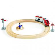 BRIO rinkinys su traukinio bėgiais Travel circle, 33511 33511