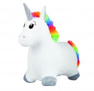 JOHN pripučiamas šokliukas vienaragis švelniu paviršiumi Hop Hop Unicorn, 59042 59042