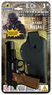 GONHER pistoletas 8 šovinių su dėklu, 1125/6 1125/6