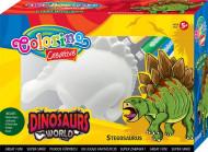 COLORINO CREATIVE dažymo rinkinys Stegosaurus, 91350PTR 91350PTR