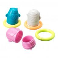 TOMMEE TIPPEE vonios žaislai Squirtee Floats, 491009 491009