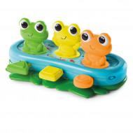 BRIGHT  STARTS muzikinis žaislas Bop and Giggle Frogs, 10791-6 10791-6