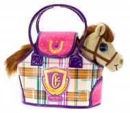 CUTEKINS pliušinis žaislas Arkliukas su nešiojimo krepšiu, 51086 51086