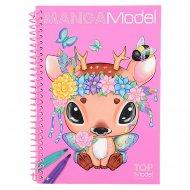 Manga Model spalvinimo knygelė, 6582 6582