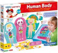 CLEMENTONI Lavinamasis žaidimas Žmogaus kūnas, 50590 50590