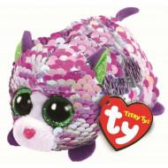 TY Teeny Tys sequin katė LILAC, TY42408