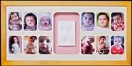 BABY MEMORY PRINT antspaudas ir kalendorius medžio, BMP.062 BMP.062