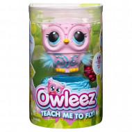 OWLEEZ interektyvus žaislas Pelėda, rožinė, 6053359/6055598 6053359