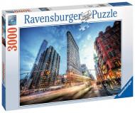 RAVENSBURGER dėlionė Flat Iron Building 3000vnt, 17075 17075