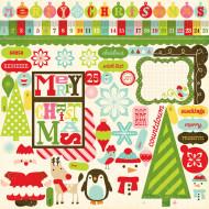 ELC Kalėdiniai lipdukai 118853 118853