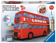 RAVENSBURGER 3D dėlionė London Bus, 216d., 12534 12534