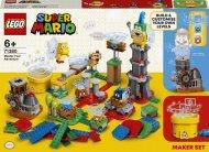 71380 LEGO® Super Mario Įgusk konstruoti savo nuotykių kūrimo rinkiniu 71380