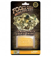 NATIONAL GEOGRAPHIC rinkinys Carded Mini Dig Fool's Gold, NGMDIGGOLD NGMDIGGOLD