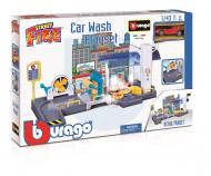 BBURAGO 1:43 rinkinys automobilių plovykla Street Fire, 18-30406 18-30406