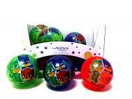 """JOHN šviečiantis kamuolys 4""""/100  mm PJ MASKS, asort, 52155 52155"""