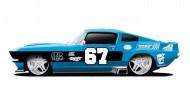 MAISTO TECH automobilis MotoSounds Mustang 1:24, 81223 81223