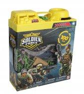 CHAP MEI žaidimų rinkinys Soldier Force Bucket, 100 pcs., 545032 545032