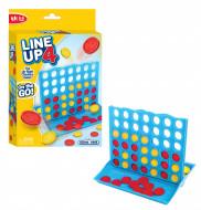 FUNVILLE GAMES žaidimas Line Up 4, kelioninė versija, 61142 61142