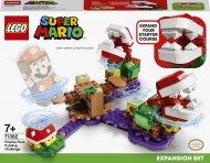 71382 LEGO® Super Mario Painus augalo piranijos iššūkis papildomas rinkinys 71382