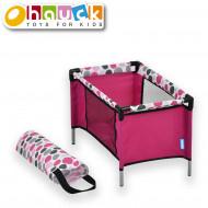HAUCK maniežas lėlei, rožinis, D89809 D89809