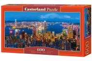CASTORLAND dėlionė Honkongo saulėlydis, 600d., B-060290 B-060290