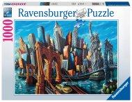RAVENSBURGER dėlionė Welcome to New York, 1000d., 16812 16812