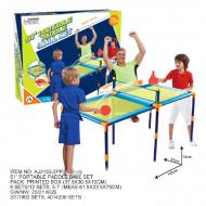 AO JIE stalo teniso rinkinys su stalu, 130x61x58.4cm, AJ2155-2PP AJ2155-2PP