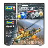 REVELL modelis Model Set Mil Mi-24D Hind, 64951 64951