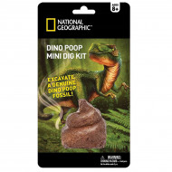 NATIONAL GEOGRAPHIC rinkinys Carded Mini Dig Dino 3Poop, NGMDIGPOOP NGMDIGPOOP