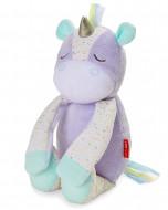 SKIP HOP Muzikinis miego  žaislas su balso įrašymu Unicorn, 303600 303600