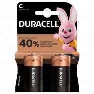 DURACELL baterijos C LR14, DURB105