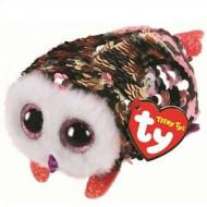 TY Teeny Tys sequin pelėda CHECKS, TY42411